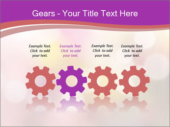 Pink Sparkles PowerPoint Template - Slide 48