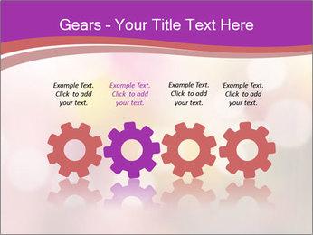 Pink Sparkles PowerPoint Templates - Slide 48
