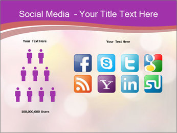Pink Sparkles PowerPoint Template - Slide 5