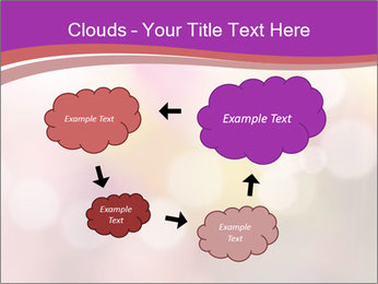 Pink Sparkles PowerPoint Templates - Slide 72