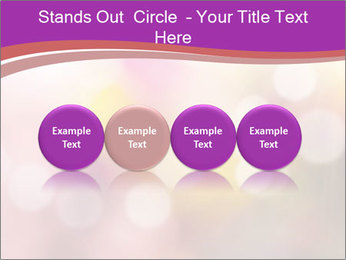 Pink Sparkles PowerPoint Template - Slide 76