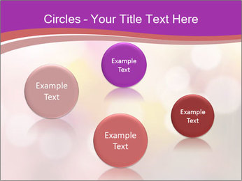 Pink Sparkles PowerPoint Templates - Slide 77
