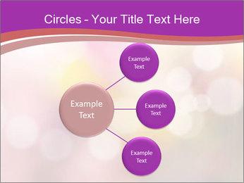 Pink Sparkles PowerPoint Templates - Slide 79