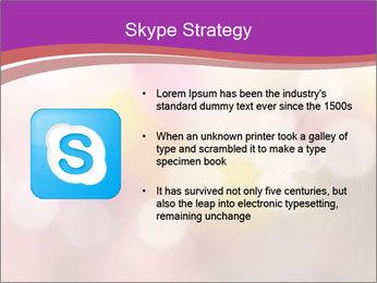 Pink Sparkles PowerPoint Templates - Slide 8