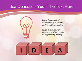 Pink Sparkles PowerPoint Templates - Slide 80