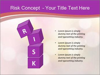 Pink Sparkles PowerPoint Templates - Slide 81