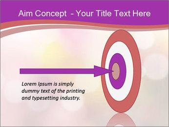 Pink Sparkles PowerPoint Templates - Slide 83