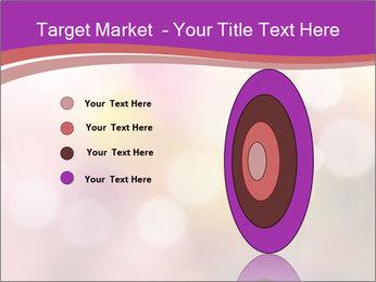 Pink Sparkles PowerPoint Templates - Slide 84