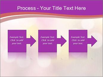 Pink Sparkles PowerPoint Templates - Slide 88