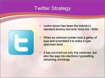 Pink Sparkles PowerPoint Templates - Slide 9