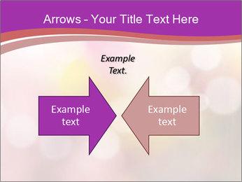 Pink Sparkles PowerPoint Templates - Slide 90