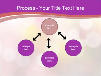 Pink Sparkles PowerPoint Template - Slide 91