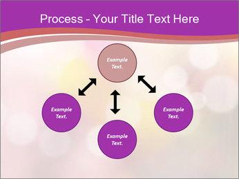 Pink Sparkles PowerPoint Templates - Slide 91