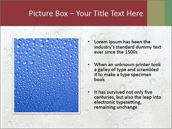 Wet Window PowerPoint Templates - Slide 13