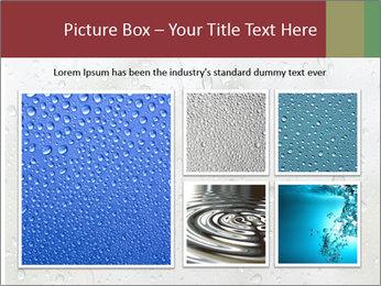 Wet Window PowerPoint Templates - Slide 19