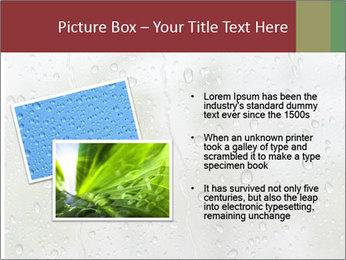 Wet Window PowerPoint Templates - Slide 20