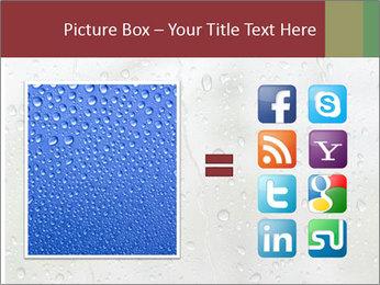 Wet Window PowerPoint Templates - Slide 21