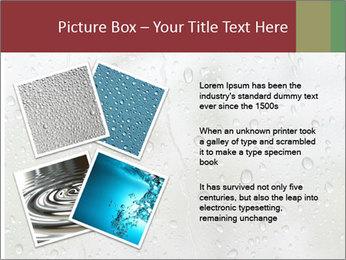 Wet Window PowerPoint Templates - Slide 23