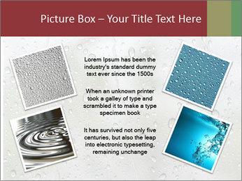 Wet Window PowerPoint Templates - Slide 24