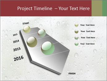 Wet Window PowerPoint Templates - Slide 26