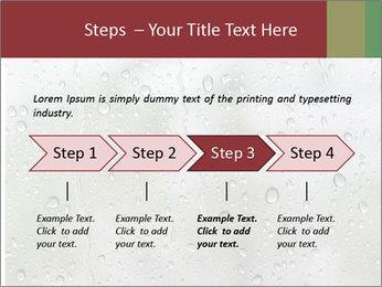 Wet Window PowerPoint Templates - Slide 4
