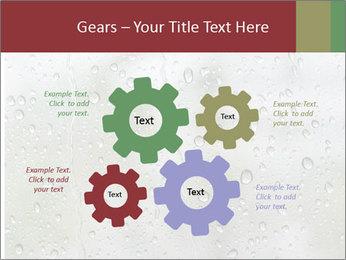 Wet Window PowerPoint Templates - Slide 47