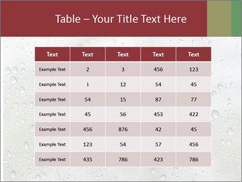 Wet Window PowerPoint Templates - Slide 55