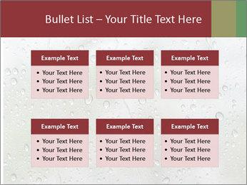 Wet Window PowerPoint Templates - Slide 56