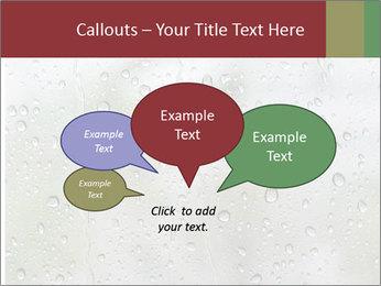 Wet Window PowerPoint Templates - Slide 73