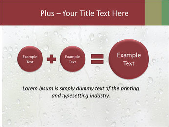 Wet Window PowerPoint Templates - Slide 75