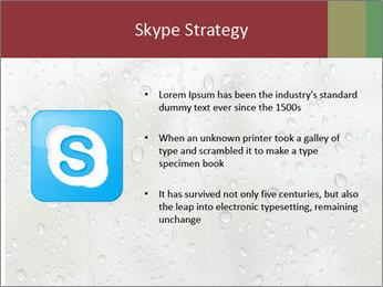 Wet Window PowerPoint Templates - Slide 8