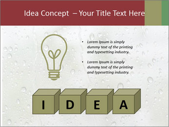 Wet Window PowerPoint Templates - Slide 80