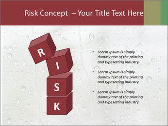 Wet Window PowerPoint Templates - Slide 81