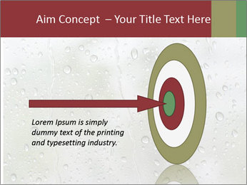 Wet Window PowerPoint Templates - Slide 83