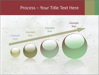 Wet Window PowerPoint Templates - Slide 87