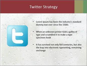 Wet Window PowerPoint Templates - Slide 9