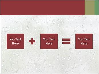 Wet Window PowerPoint Templates - Slide 95