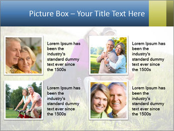 Couple Sitting In Field PowerPoint Templates - Slide 14