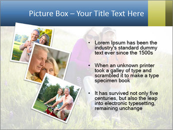 Couple Sitting In Field PowerPoint Templates - Slide 17