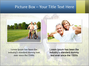 Couple Sitting In Field PowerPoint Templates - Slide 18