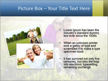 Couple Sitting In Field PowerPoint Templates - Slide 20