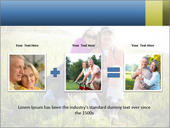 Couple Sitting In Field PowerPoint Templates - Slide 22