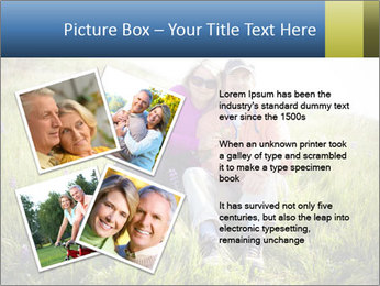 Couple Sitting In Field PowerPoint Templates - Slide 23