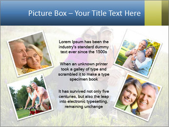 Couple Sitting In Field PowerPoint Templates - Slide 24