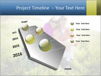 Couple Sitting In Field PowerPoint Templates - Slide 26