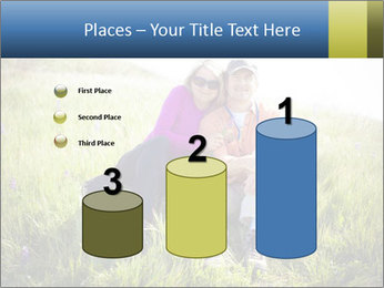 Couple Sitting In Field PowerPoint Templates - Slide 65