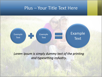 Couple Sitting In Field PowerPoint Templates - Slide 75