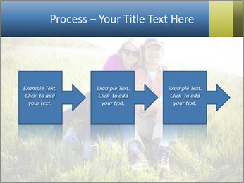 Couple Sitting In Field PowerPoint Templates - Slide 88