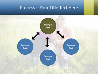Couple Sitting In Field PowerPoint Templates - Slide 91
