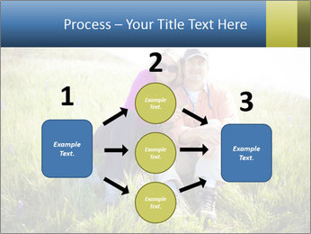 Couple Sitting In Field PowerPoint Templates - Slide 92